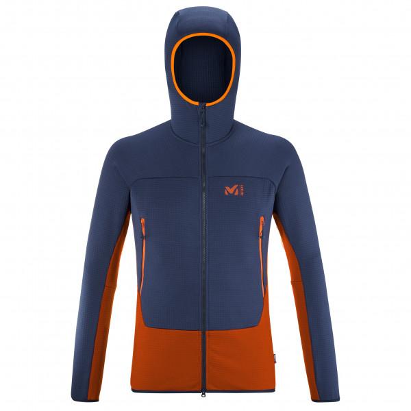 Fusion Grid Hoodie - Fleece jacket