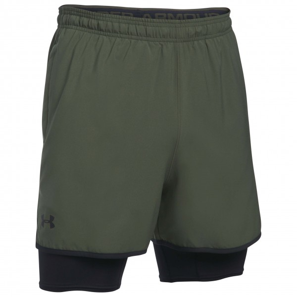 Under Armour - UA Qualifier 2-in-1-Short - Tracksuit trousers