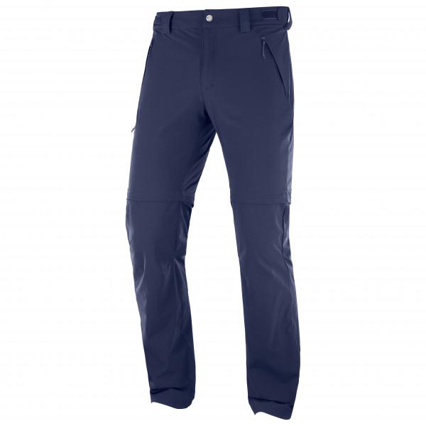 Salomon - Wayfarer Straight Zip Pant - Trekking bukser