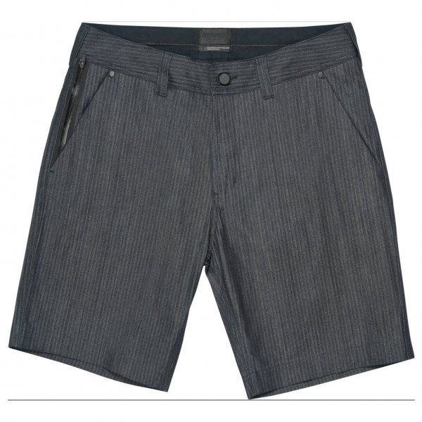 Alchemy Equipment - Indigo Herringbone Denim Shorts - Short