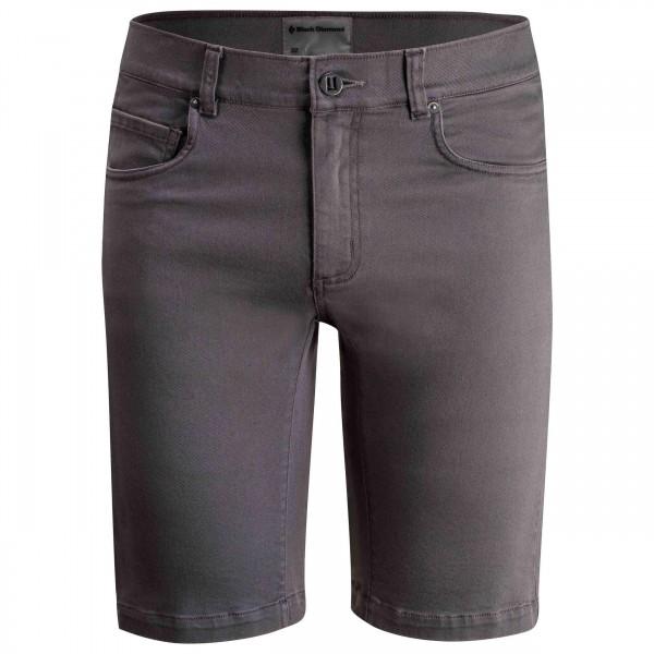 Black Diamond - Stretch Font Shorts - Shortsit