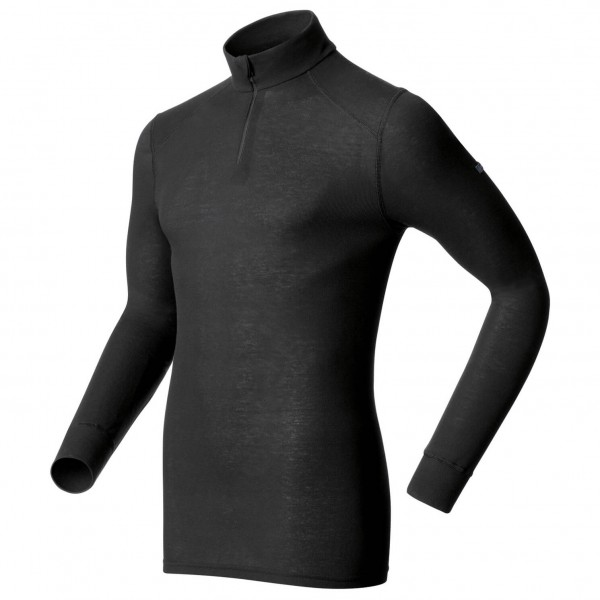 Odlo - Shirt L/S Turtle Neck 1/2 Zip Warm - Long-sleeve