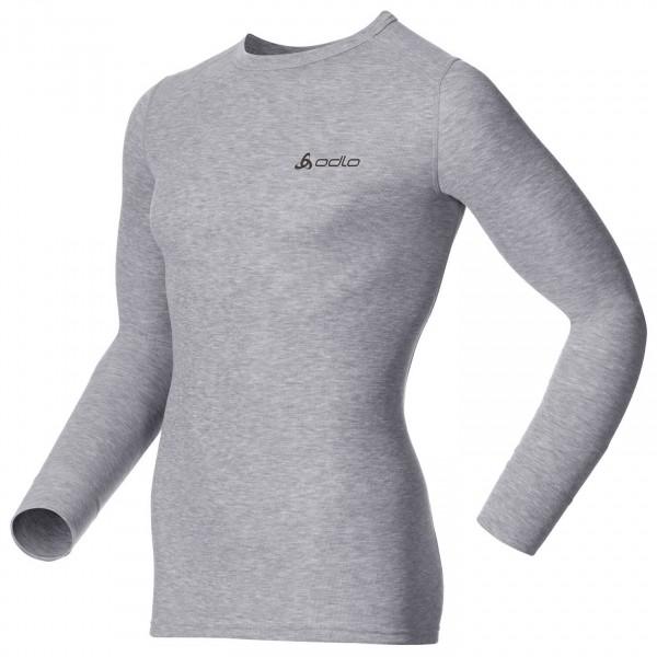 Odlo - Shirt L/S Crew Neck Warm - Syntetisk undertøj