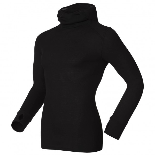Odlo - Shirt L/S With Facemask Warm - Longsleeve
