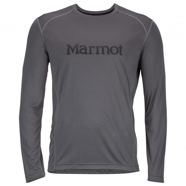 Marmot - Windridge with Graphic LS - Tekokuitualusvaatteet
