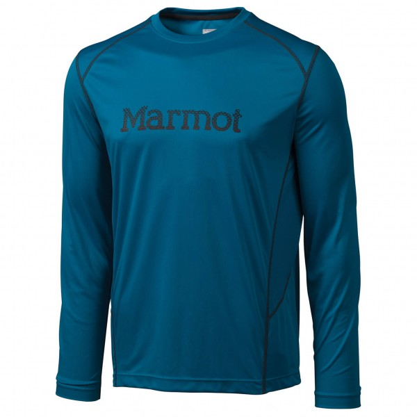 Marmot - Windridge with Graphic LS - Synthetic base layers