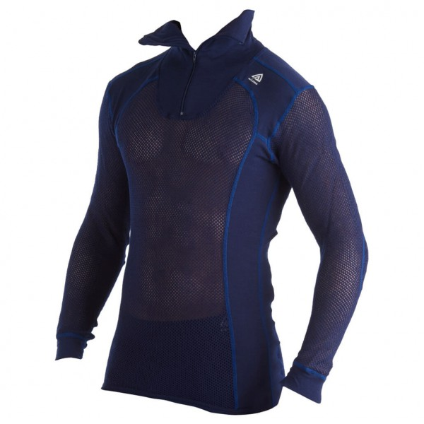 Aclima - CN Polo w/Zip - Synthetic base layers