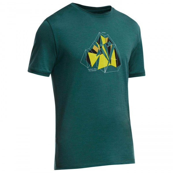 Icebreaker - Tech T Lite SS Alpine Ridge - T-shirt
