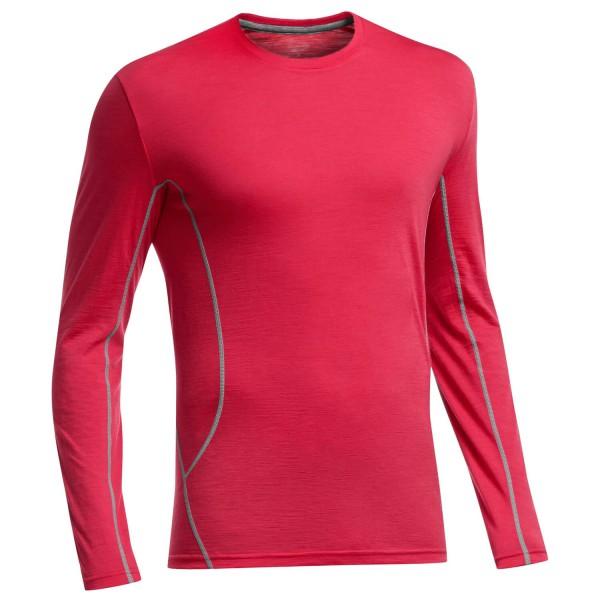 Icebreaker - Aero LS Crewe - T-Shirt