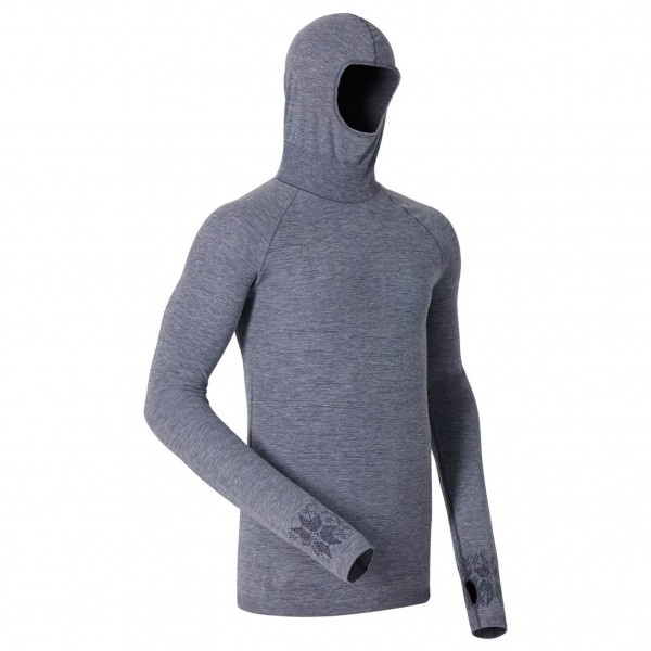 Odlo - Shirt L/S With Facemask Zeromiles - Longsleeve