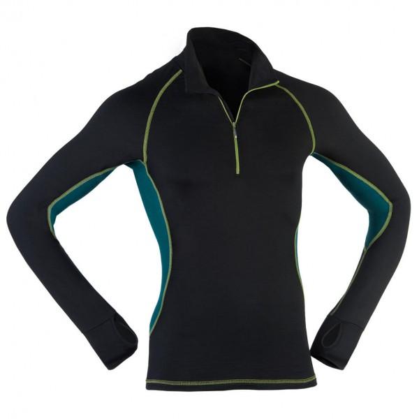 Engel Sports - Lauf-Shirt L/S Zip Slim Fit - Long-sleeve