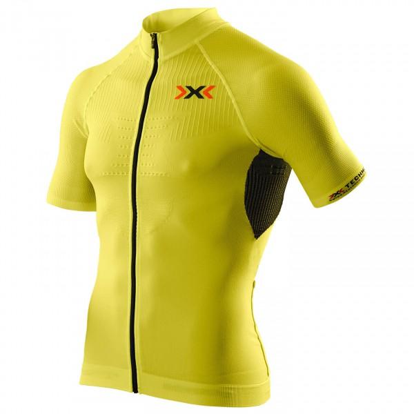 X-Bionic - The Trick Biking Shirt S/S Full Zip - T-shirt