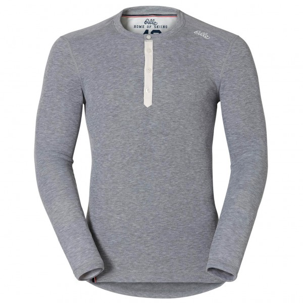 Odlo - Vallée Blanche Warm L/S Crew Neck Shirt - Leggingsit