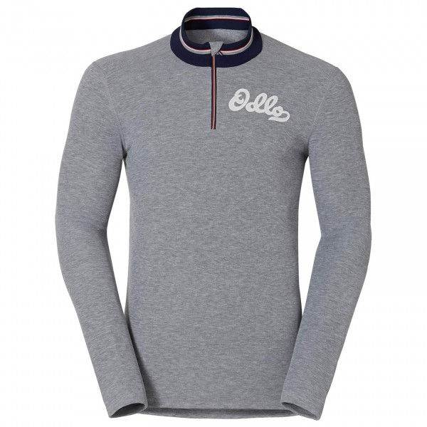 Odlo - Vallée Blanche Warm Shirt L/S Turtle Neck 1/2 Zip