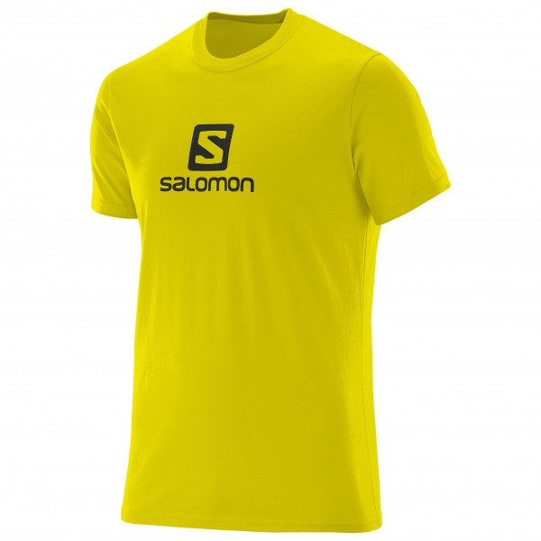 Salomon - T-S/S Logo Cotton Tee - T-paidat