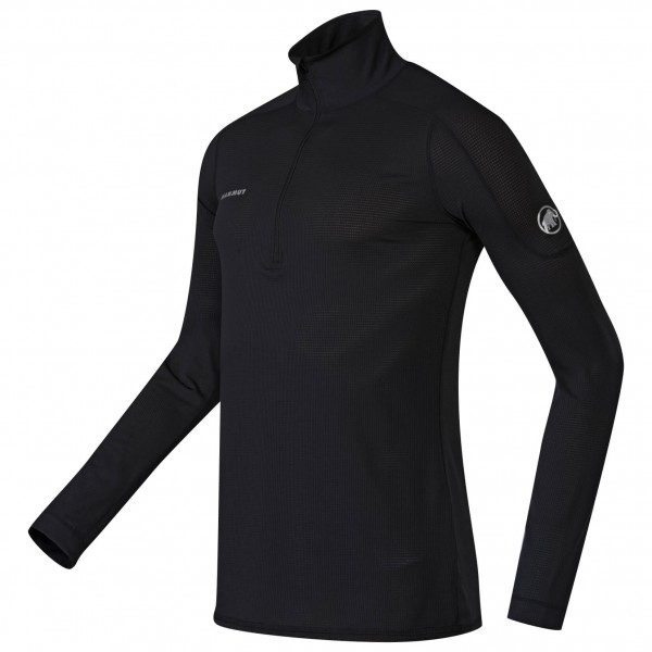 Mammut - Go Dry Zip Longsleeve - Synthetic base layer