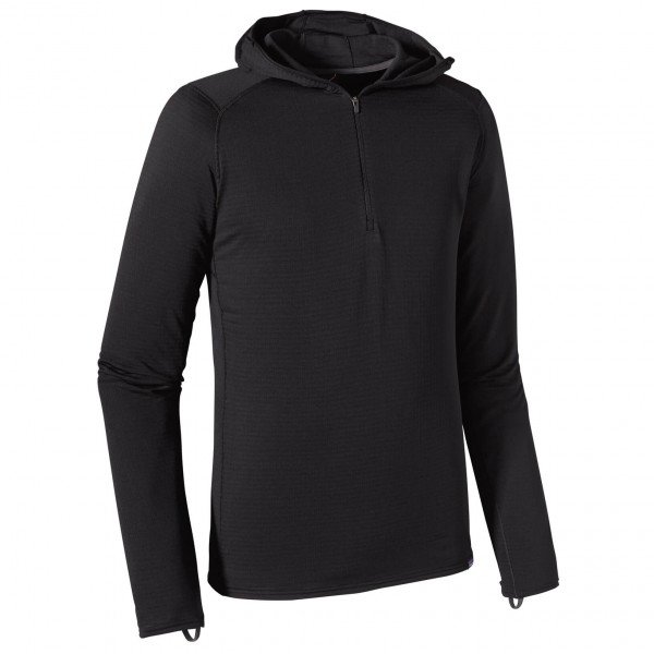 Patagonia - Capilene Thermal Weight Zip-Neck Hoody - Underkläder syntet