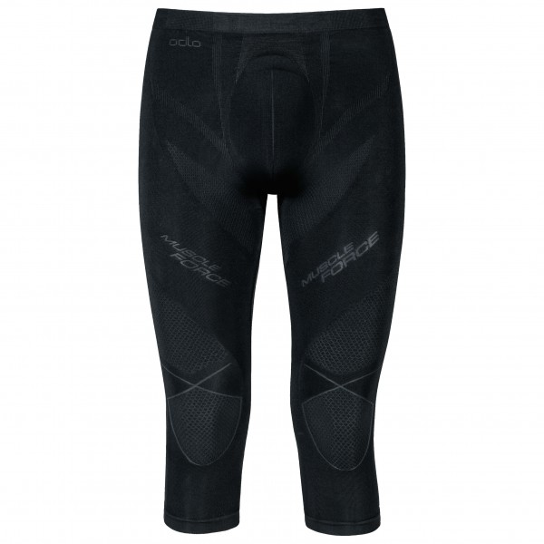 Odlo - Pants 3/4 Evolution Warm Muscle Force - Synthetic base layer