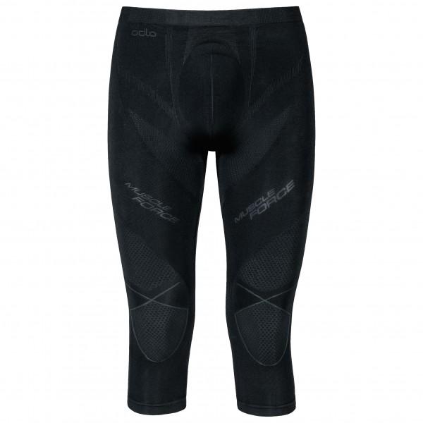 Odlo - Pants 3/4 Evolution Warm Muscle Force - Underkläder syntet