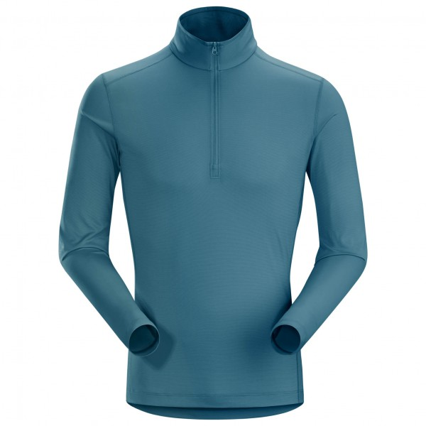 Arc'teryx - Phase SL Zip Neck L/S - Syntetisk undertøj