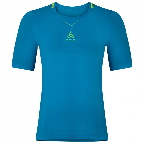 Odlo - Shirt S/S Crew Neck Smart Ceramicool Sea - Synthetic base layer