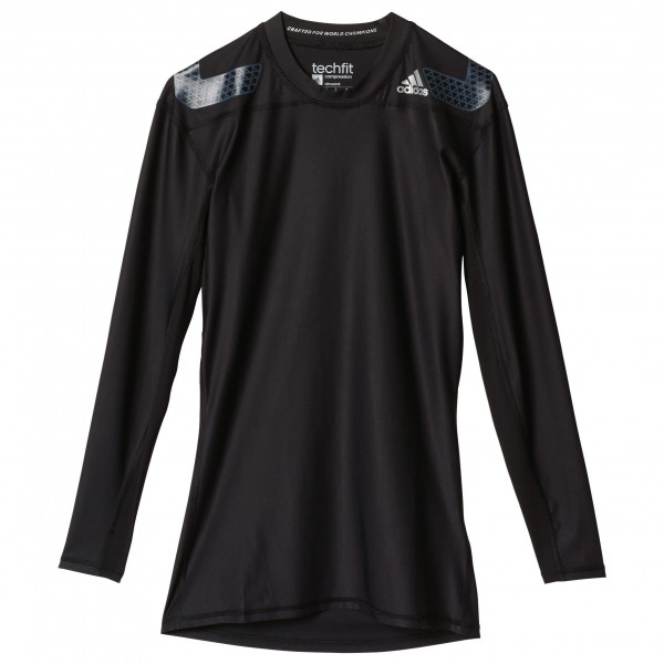 adidas - Techfit Power Long Sleeve Tee - Kompressionswäsche