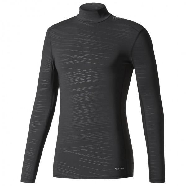 adidas - Techfit Climawarm Base Long Sleeve Tee Mock - Kunstfaserunterwäsche
