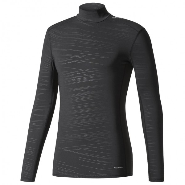 adidas - Techfit Climawarm Base Long Sleeve Tee Mock - Synthetisch ondergoed
