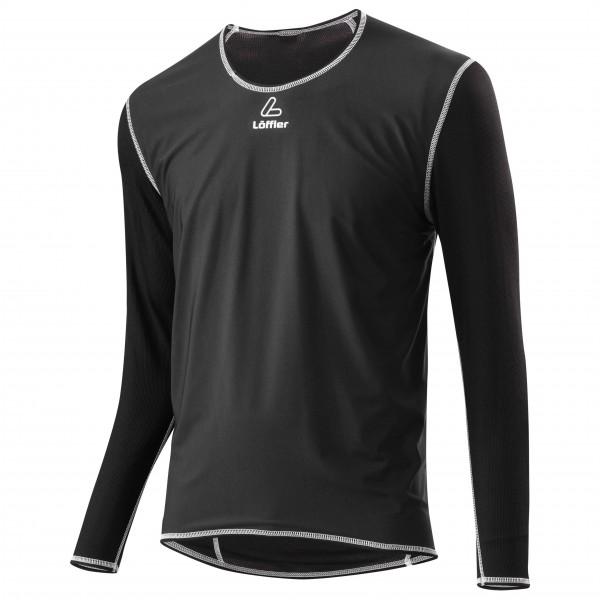 Löffler - Windstopper Shirt Transtex Light L/S - Syntetisk undertøy