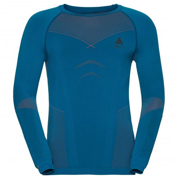 Odlo - Shirt L/S Crew Neck Evolution Warm - Syntetisk undertøy