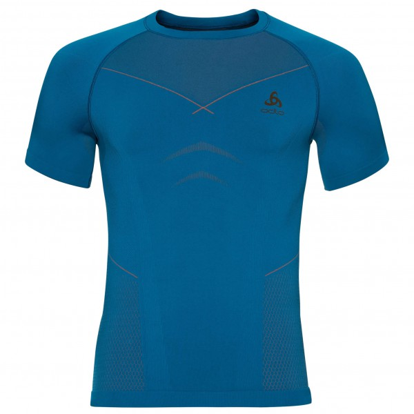 Odlo - Shirt S/S Crew Neck Evolution Warm - Syntetisk undertøj