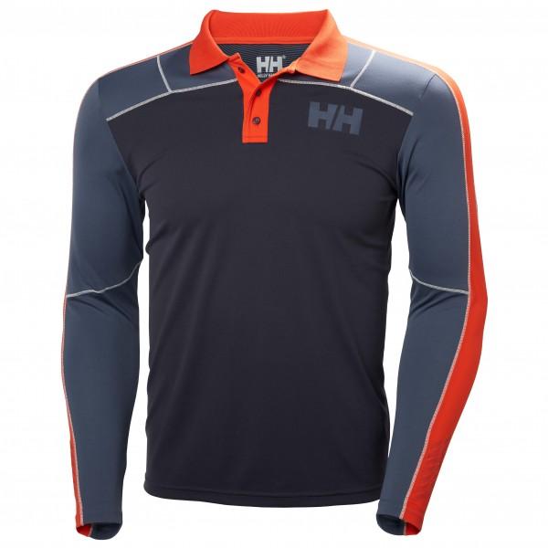 Helly Hansen - HH Lifa Active Light L/S Polo - Underkläder syntet