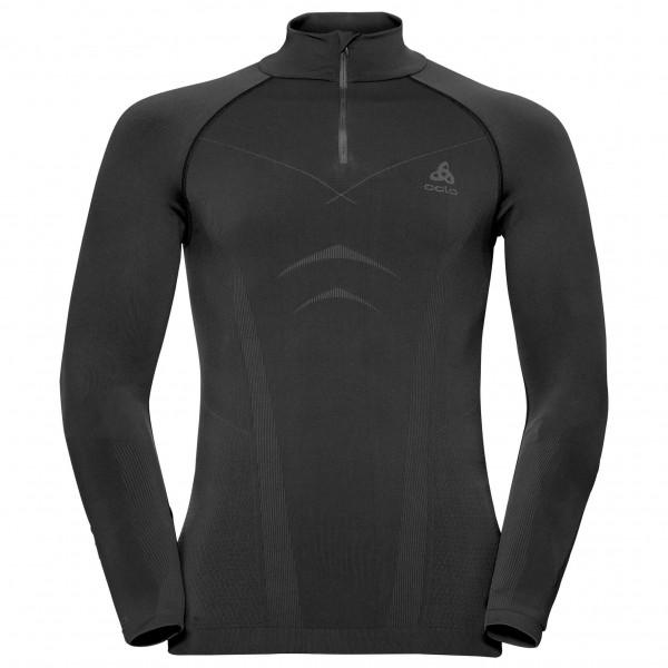 Odlo - Shirt L/S Turtle Neck 1/2 Zip Evolution - Underkläder syntet