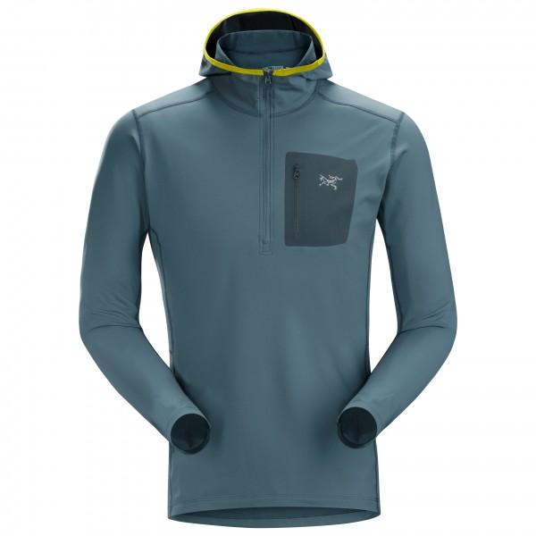 Arc'teryx - Rho LT Hooded Zip Neck - Syntetisk undertøy
