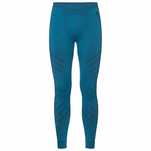 Odlo - Suw Bottom Pant Natural + Kinship Warm II - Synthetic base layer