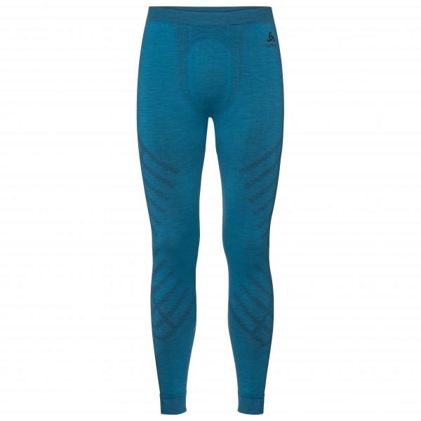 Odlo - Suw Bottom Pant Natural + Kinship Warm II - Synthetic base layer