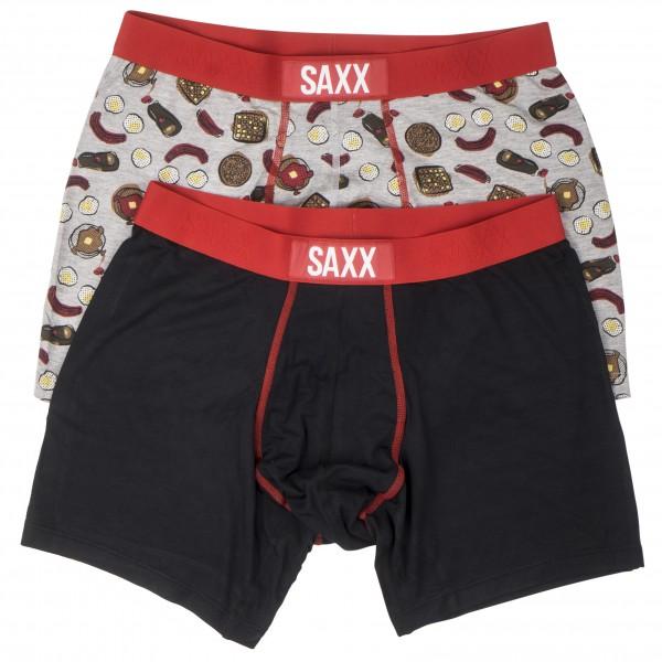 Saxx - Vibe Boxer 2 Pack - Kunstfaserunterwäsche