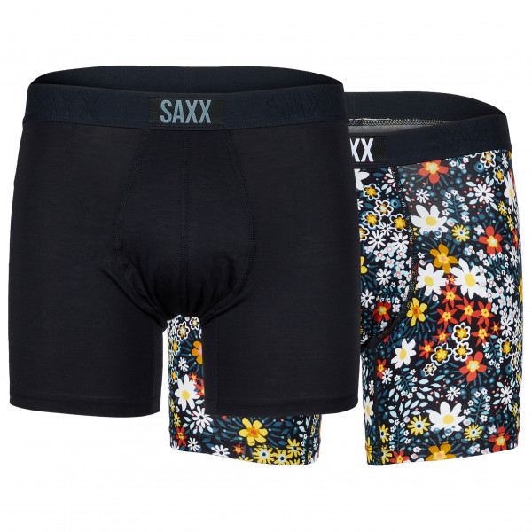 Saxx - Vibe Boxer 2 Pack - Synthetisch ondergoed