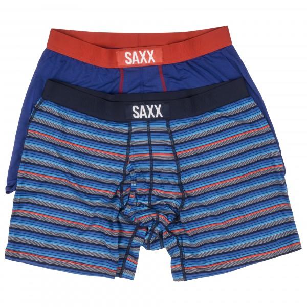 Saxx - Ultra Boxer Brief Fly 2 Pack - Syntetisk undertøj