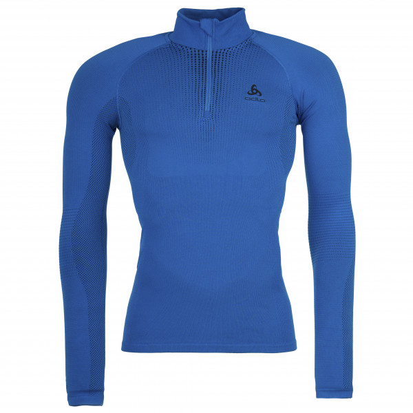 Odlo - BL Top Turtle Neck L/S Half Zip Performance - Synthetic base layer
