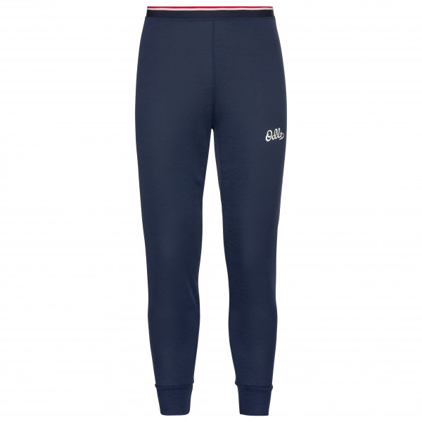 Odlo - Base Layer Bottom Long Active Warm Originals Eco - Tekokuitualusvaatteet