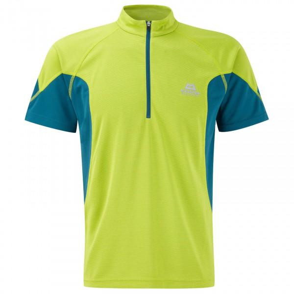 Mountain Equipment - Crux SS Zip Tee - Sport-T-shirt