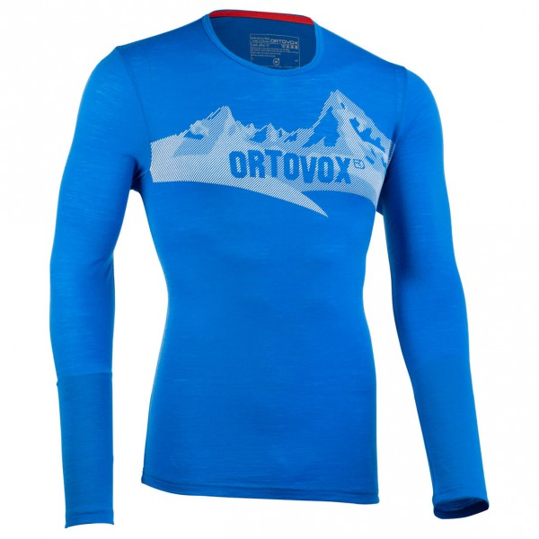 Ortovox - M 185 Long Sleeve Print - Funktionsshirt