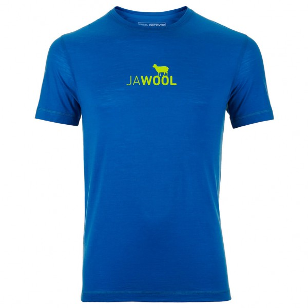 Ortovox - Merino Cool Print Jawool SS - Merino undertøj
