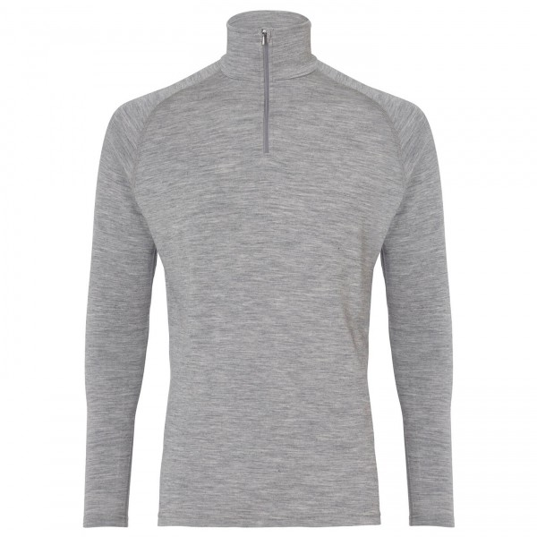 66 North - Basar Zip Neck - Ropa interior merino