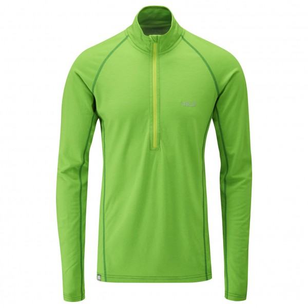 Rab - MeCo 165 L/S Zip - Merino base layers