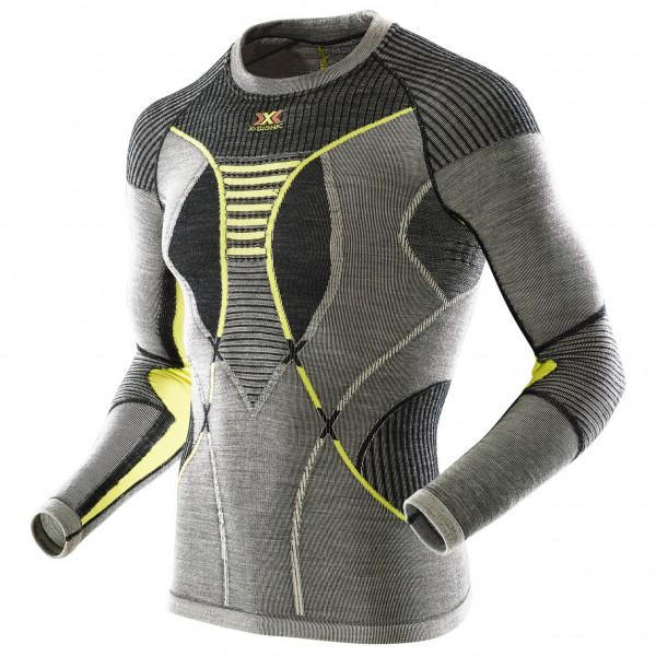 X-Bionic - Apani Merino Shirt Roundneck - Merino ondergoed