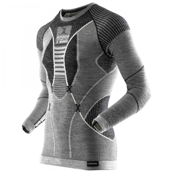 X-Bionic - Apani Merino Shirt Roundneck - Merinounterwäsche