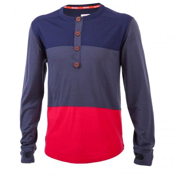 Mons Royale - Henley LS - Merino ondergoed