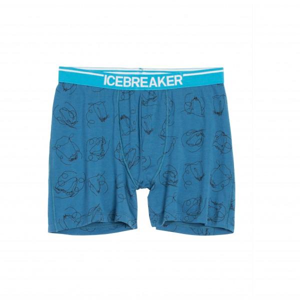 Icebreaker - Anatomica Boxers Heads Up - Merinovilla-alusvaa